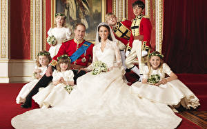 Фото Catherine Elizabeth Middleton Уильям Артур Филип Луис