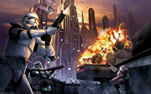 Фото Star Wars Клоны солдаты Игры