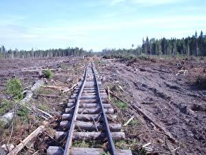 Картинка Железные дороги Рельсы