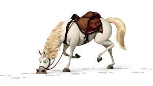 Обои Рапунцель. Запутанная история Лошади мультик