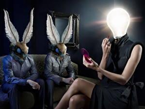Картинки Лампа накаливания Юмор