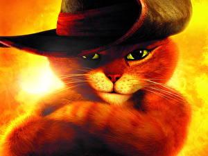 Обои Кот в сапогах 2011 Мультики