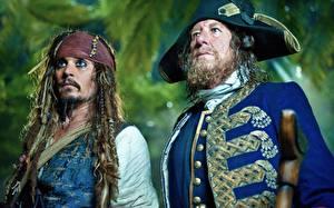 Картинки Пираты Карибского моря Johnny Depp Кино Фильмы