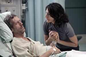 Обои Доктор Хаус Hugh Laurie Фильмы