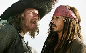 Фото Пираты Карибского моря Johnny Depp Джеффри Раш Фильмы