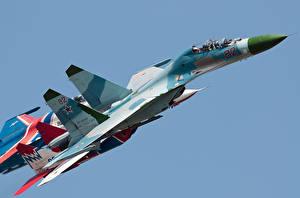 Фотография Самолеты Истребители Су-27