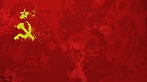 Фотография Серп и молот Флаг СССР
