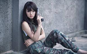 Фото Hwang Mi Hee молодые женщины