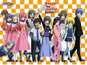 Обои Hayate the Combat Butler Аниме
