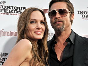 Картинка Angelina Jolie Брэд Питт