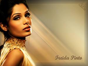 Обои Freida Pinto
