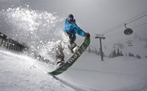 Фотографии Лыжный спорт Сноуборд