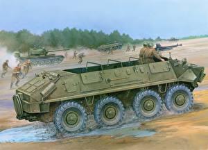 Обои БТР Армия