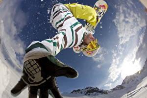 Фотографии Лыжный спорт Сноуборд Snoubord
