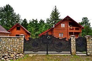 Фотографии Здания Украина Закарпатье Старая Гута Города