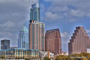 Обои Штаты Техас Остин TX