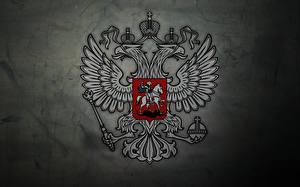 Фотографии Россия Герб Двуглавый орёл