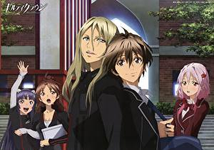 Обои Guilty Crown Аниме