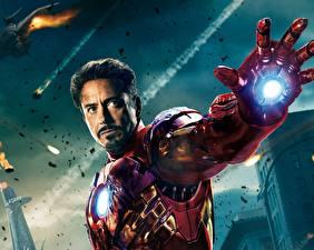 Фотография Мстители (фильм, 2012) Robert Downey Jr Железный человек герой Фильмы