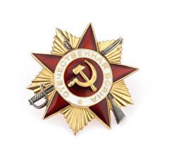 Картинка Праздники День Победы Белый фон орден отечиственная война