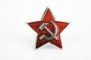 Картинка Серп и молот красная звезда