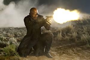 Картинки Мстители (фильм, 2012) Выстрел Негр