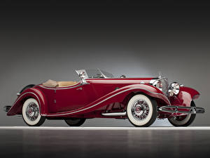 Картинки Mercedes-Benz Родстер 500K Luxury Roadster 1935 Автомобили