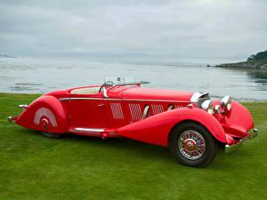Фотографии Мерседес бенц Родстер 540K Special Roadster by Mayfair 1937