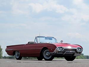 Фотографии Форд Родстер Thunderbird Sports Roadster 1962 автомобиль