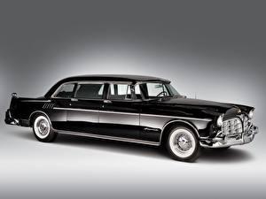 Обои Chrysler Imperial Crown Limousine 1956 автомобиль