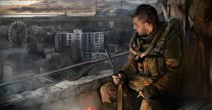 Обои STALKER S.T.A.L.K.E.R. Call of Pripya Игры фото