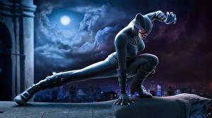 Картинка Супергерои Женщина-кошка герой Фэнтези
