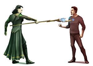 Обои Мстители (фильм, 2012) Tom Hiddleston Fan ART