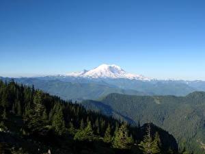 Фотография Горы США Маунт-Рейнир парк Washington