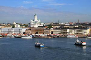 Фотографии Финляндия Хельсинки город