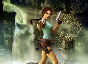 Фото Tomb Raider Tomb Raider Anniversary Лара Крофт Девушки
