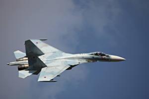 Картинки Самолеты Истребители Су-27 СМ3