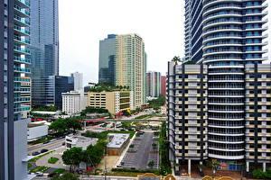 Обои США Флорида Майами Города фото