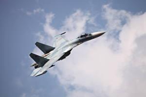 Фотографии Самолеты Истребители Су-27 СМ3