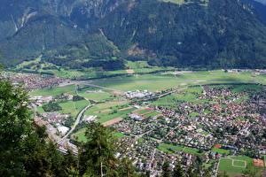 Фото Швейцария Городки Берн Berna Oberlando Города
