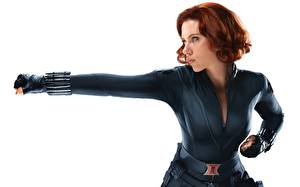 Картинка Мстители (фильм, 2012) Scarlett Johansson BLACK WIDOW Фильмы