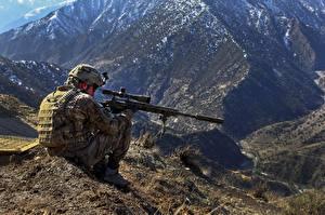 Обои Снайперы Армия