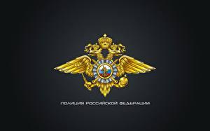Фото Россия Герб Двуглавый орёл