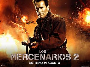 Обои для рабочего стола Неудержимые Arnold Schwarzenegger Фильмы