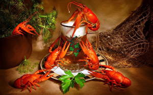Обои Морепродукты Раки Еда фото
