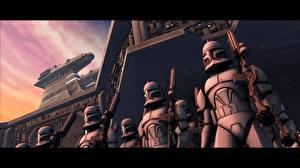 Картинки Звездные войны Звездные войны Эпизод 2 - Атака клонов Клоны солдаты кино