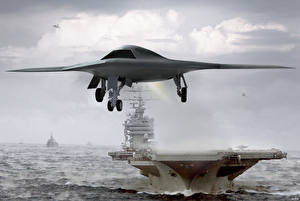 Картинки Беспилотный летательный аппарат X-47B