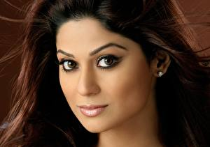 Обои Индийские Shamita Shetty