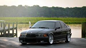 Фотографии BMW Черные машина