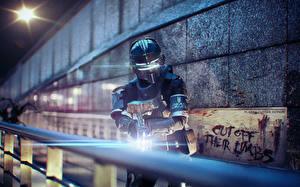 Фото Dead Space Dead Space 0 Воители Броня Шлем Fan ART 0D_Графика Фэнтези
